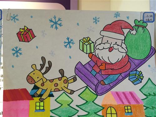 幼儿园儿童画教师范画 幼儿美术范画图片大全幼儿